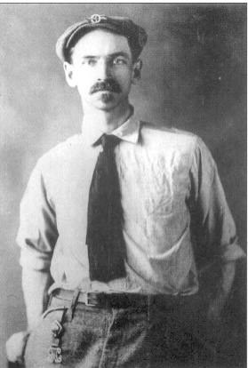 Curtiss portrait with mustash1909-1917